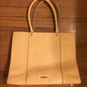 Rebecca Minkoff MAB Saffiano Leather Tote Handbag